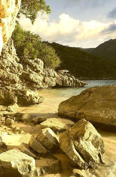 by Dorthe Arve Olsen on Flickr.Beach near Labadee, Haiti.