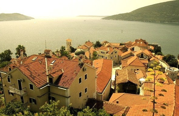 by kristineinindonesia on Flickr.The coastal town of Herceg Novi, located at the entrance to the Bay of Kotor, Montenegro.