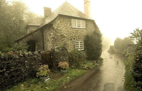 Rainy Day, Somerset, England