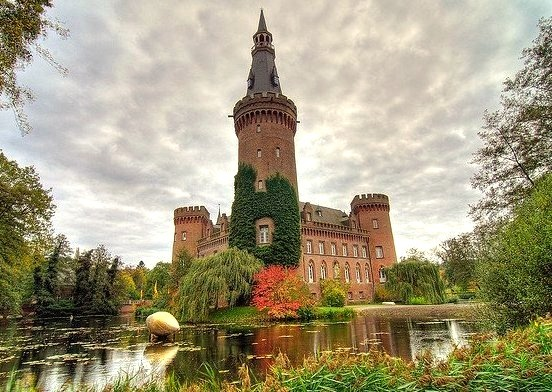 by eldejo on Flickr.Schloss Moyland is a castle in Bedburg-Hau, one of the most important neo-Gothic buildings in North Rhine-Westphalia, Germany.