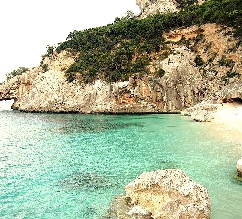 by fredb.photocorsica on Flickr.Beautiful Cala Goloritze beach in Sardegna, Italy.