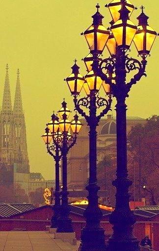 Lanterns, Vienna, Austria