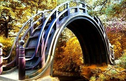 Moon Bridge, Japanese Tea Garden, San Francisco