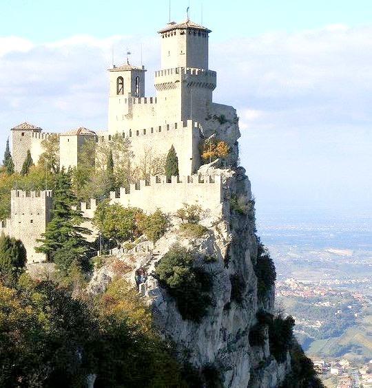 Torre Guaita in the Republic of San Marino