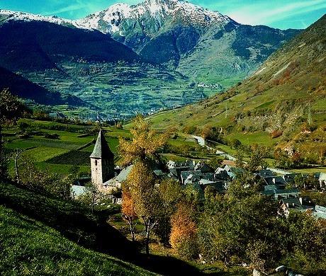 The Pyrenees, Escunhau, Spain