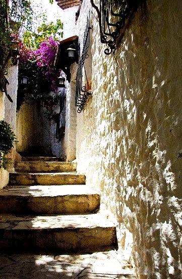 Narrow streets in Marmaris, Turkey