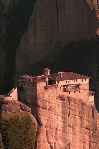 Roussanou Monastery, Meteora, Greece.