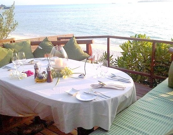 Unique dining experiences at Taj Exotica Resort, Maldives