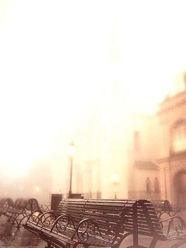 Fog, New Orleans, Louisiana
