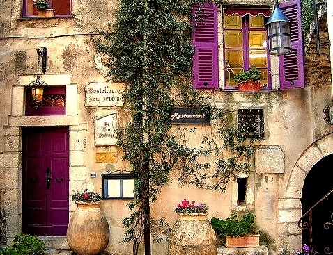 Ancient Restaurant, Provence, France