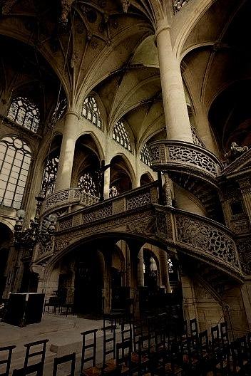 Spiral Staircase, Paris, France