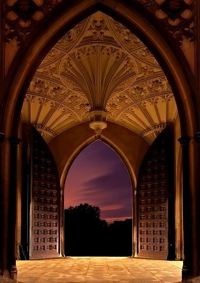 Arches, St. John's College, Cambridge, England