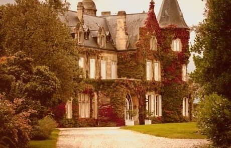 Autumn Ivy, Lascombe Castle, France