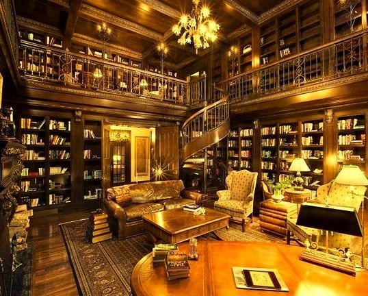 Library, Ellison Bay, Wisconsin