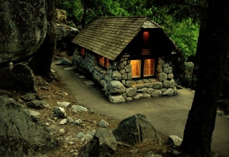 Stone Forest Cabin, Yosemite, California