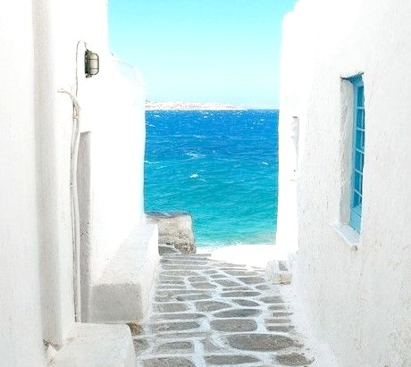 Blue and White, Mykonos, Greece