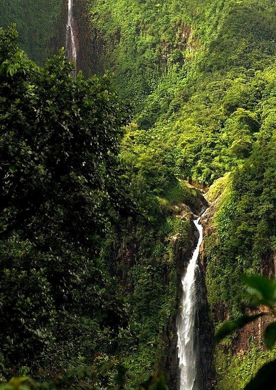 Chutes de Carbet, Parc National de la Guadeloupe