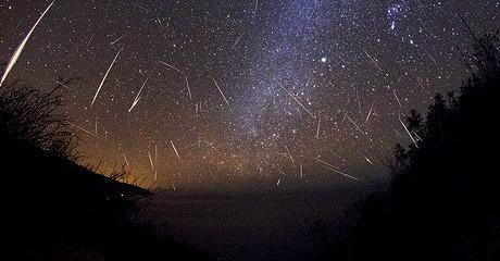 Meteor Shower at Big Sur, California