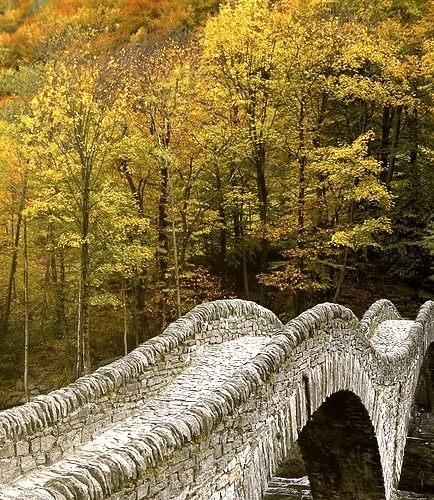 Ponte dei Salti in Val Verzasca / Switzerland