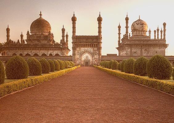 Ibrahim Rauza Mausoleum in Bijapur / India