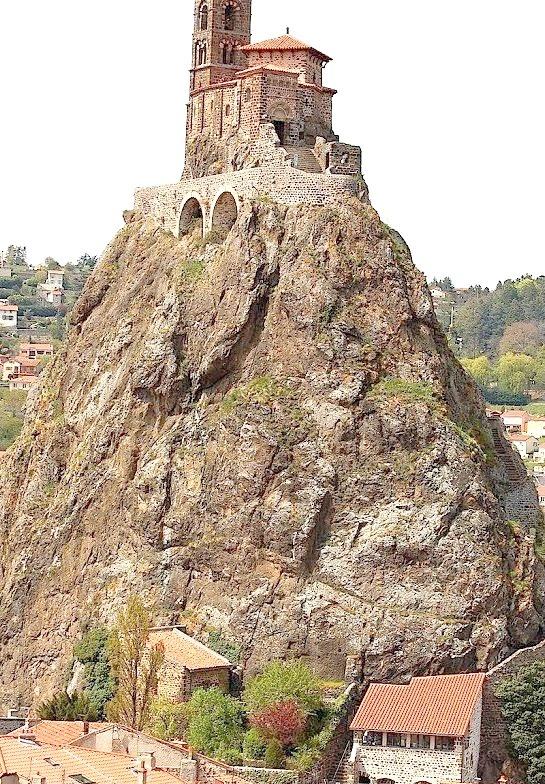 Saint Michel d'Aiguilhe, Auvergne / France
